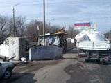 Донбасс глазами водителя российского гумконвоя. Разруха и военная техника (фото)