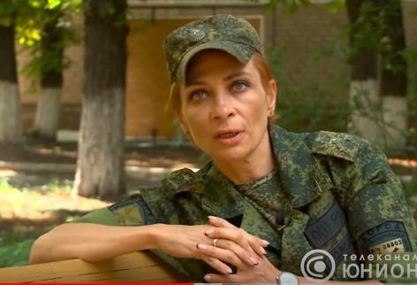 Боевик Корса считает себя потомственной военнослужащей: ее родные воевали еще при царе