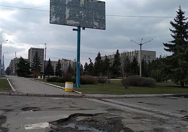 Прогулки по Горловке: Герцена, Гагарина, Нестерова и рынок