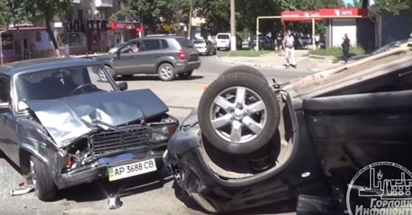 """В оккупированной Горловке пытаются """"замять"""" ДТП, в котором виноват сотрудник местной полиции"""