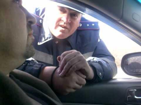 После захвата облгосадминистрации и управления СБУ на трассе Горловка-Донецк увеличилось количество патрулей  ГАИ (ВИДЕО)