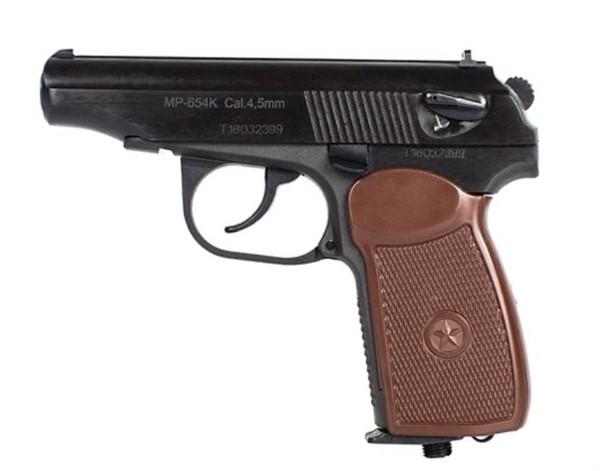 Мощный пневматический пистолет: изучаем особенности