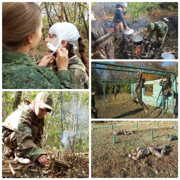 Горловских подростков учили выживать в лесу в эстренных ситуациях