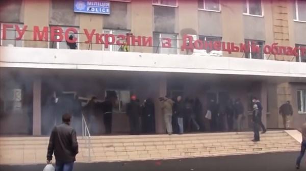 «УВД мы взяли голыми руками за 20 минут»: боевики вспомнили, как разрушали Горловку в 2014 году