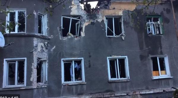 Ранним утром обстрелян горловский поселок Гольма. Стреляли из тяжелого