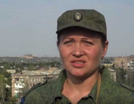 """Жительница Горловки служит в """"ДНР"""": она защищает свою землю и хочет мира"""