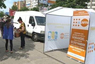 Жители Донбасса, проживающие на линии соприкосновения, могут сделать кардиограмму в мобильных клиниках