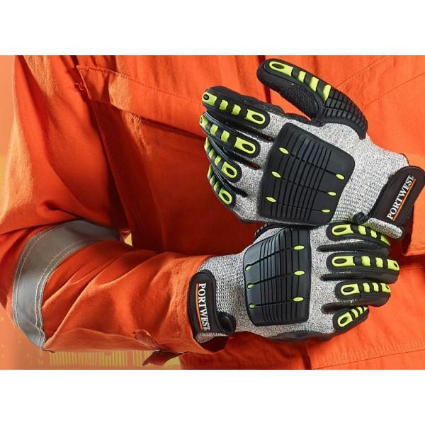 Рабочие перчатки с мультизащитой: что это?
