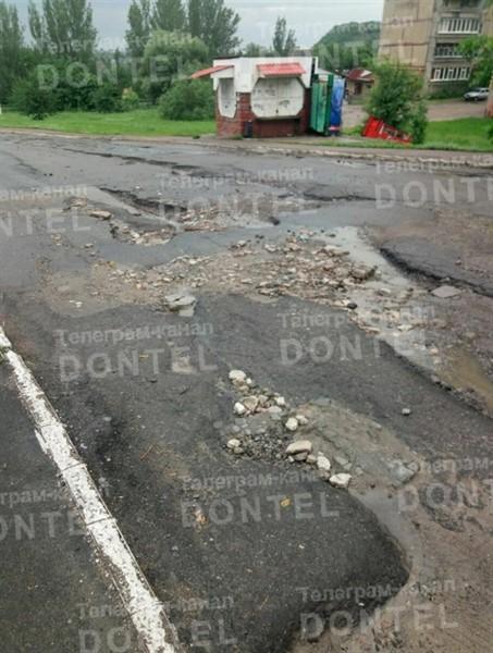 Дороги Горловки перешли отметку «критично». В городе дорожный коллапс - посмотрите