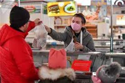 Работники торговли и сферы обслуживания в Горловке должны носить защитные маски