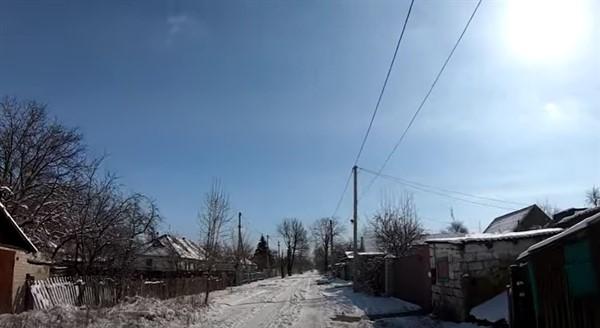 Поселок шахты Румянцева в Горловке: смотрим на видео, в каком он состоянии