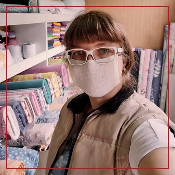 Переселенка из Горловки создала бренд по пошиву натурального постельного белья. Она участница бизнес-голосования