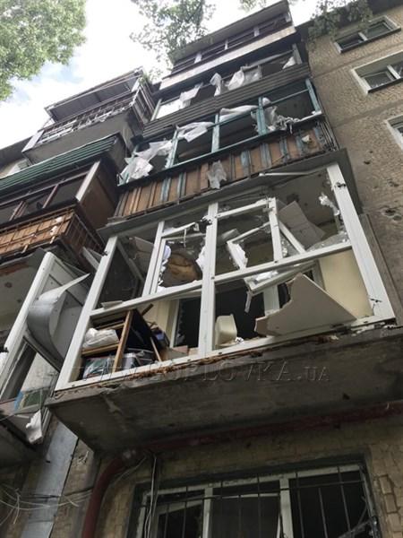 В Горловке показали последствия обстрелов