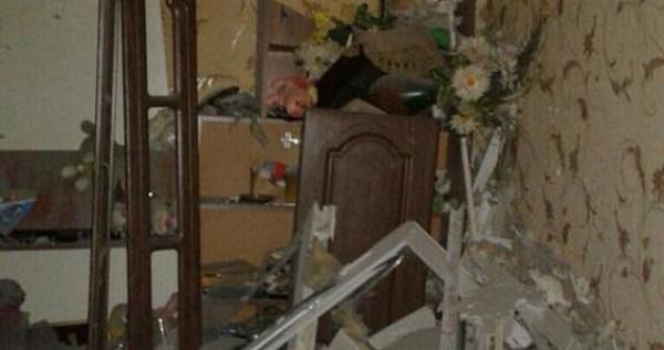 В Горловке - прямое попадание снаряда в квартиру