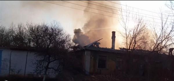 Сегодня утром в Горловке сгорело три человека