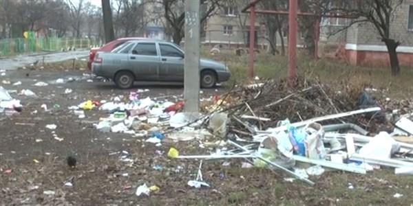 Горловчан предупредили о штрафе за образование свалок из строительного мусора