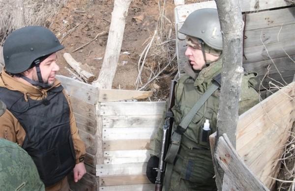 """Главарь """"ДНР"""" заявил о готовности к контрнаступлению"""