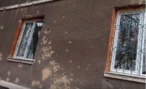В одном из районов Горловки  больше нет зданий суда, прокуратуры и милиции. Их разобрали