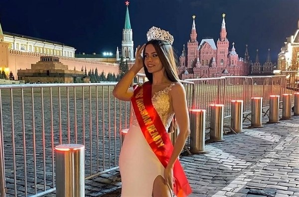 Элина Губушкина из Горловки победила в конкурсе «Русская Красавица - 2021» в Москве