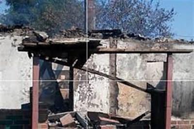 Житель Зайцево рассказал, как живет после попадания снаряда в его дом