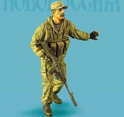 «Я памятник Безлеру воздвиг»: российская компания увековечила горловского Беса в игрушке из смолы (ФОТО)