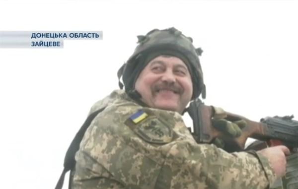 Полтавский военный ВСУ, дислоцирующийся в Зайцево, считает Донецкую область для себя родной