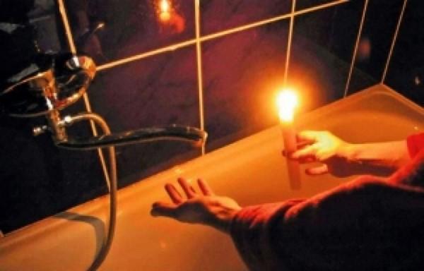 14 и 15 сентября в Горловке очередное отключение света и воды
