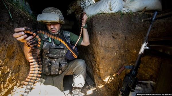 Фрагменты войны: фотографии украинских военных с передовой