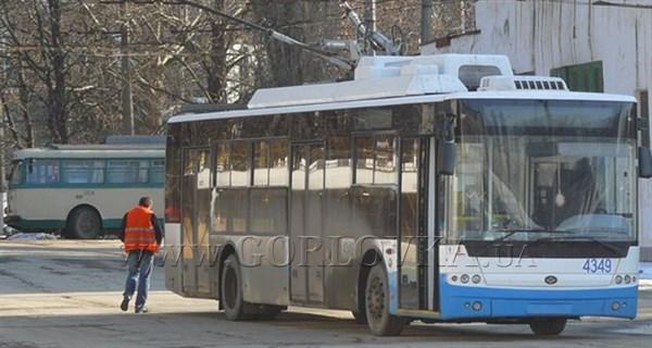 В Горловке из-за ремонтных работ временно остановят работу троллейбусов