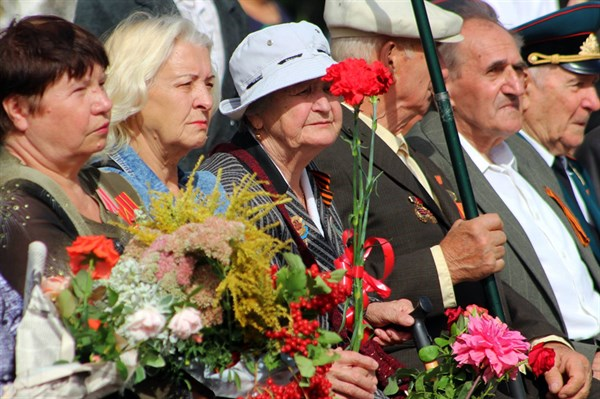В Горловке праздновали освобождение Донбасса от немецко-фашистских захватчиков