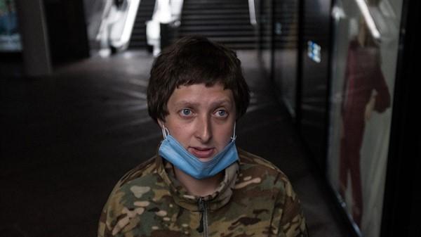 Переселенка из Горловки потеряла в карантин работу в Киеве и оказалась на улице. Но хочет вернуться к нормальной жизни