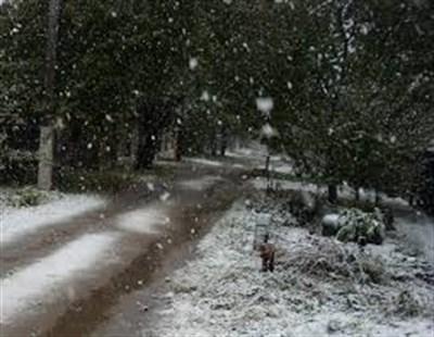 """В Горловке выпал настоящий первый снег. Посмотрите на дорогу и """"переобуйте"""" автомобиль - штрафуют"""