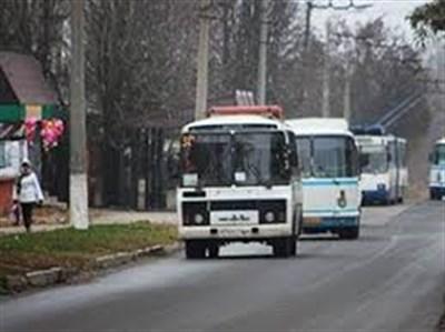 1 ноября в Горловке будет изменена схема автобуса №6