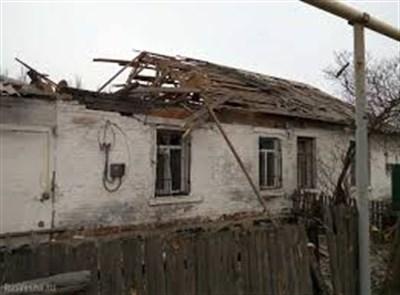 В Горловке из-за обстрела поврежден жилой дом