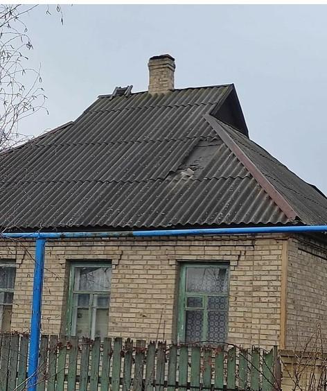 В Горловке из-за обстрела повреждено два дома