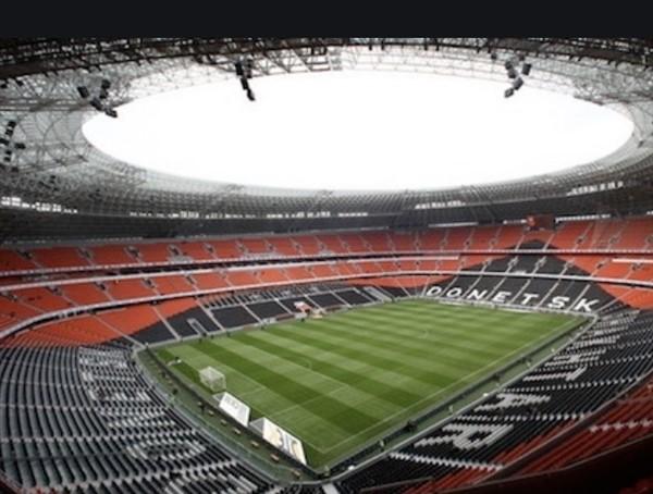 """Из Донецка показали состояние стадиона """"Шахтер"""". Там мечтают принимать Лигу Чемпионов"""