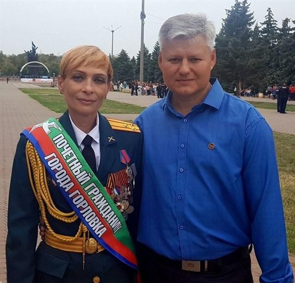 Боевика из Горловки с позывным Корса снова сделали почетным гражданином города