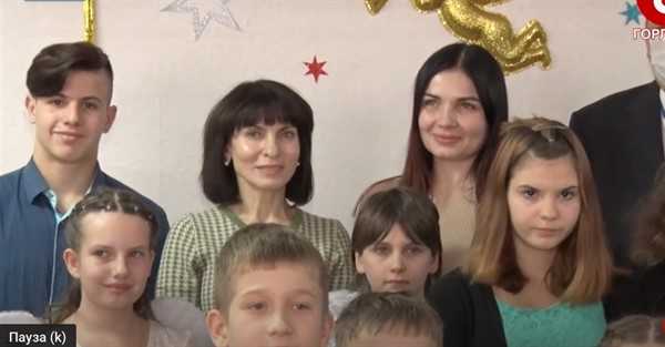 """В Горловку приезжала жена главаря """"ДНР"""" Ирина Пушилина"""