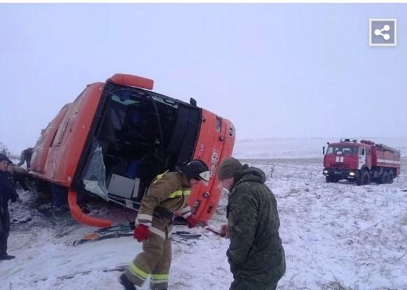 У погибшей беременной женщины в автобусе Горловка-Севастополь остался двухлетний ребенок