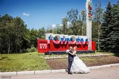 В Горловке очередная свадьба с милицейской патрульной машиной, БТРом и пулеметами