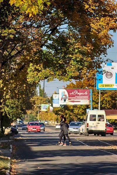 Осеннюю Горловку сравнили со Швейцарией (ФОТОРЕПОРТАЖ)