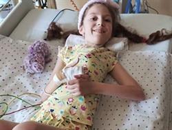 10-летней горловчанке Полине Козенковой со СМА собрали в Украине миллион гривен и сделали операцию в Германию