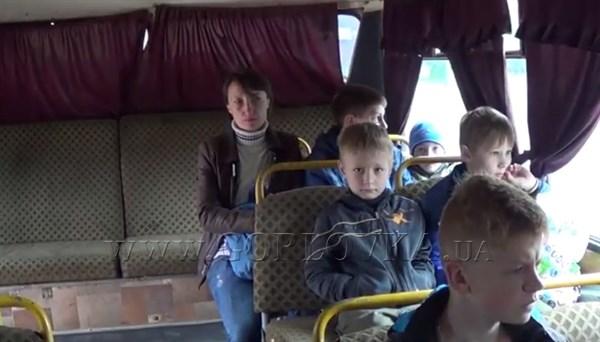 Детей сотрудников Стирола вывезли на экскурсию в Донецк, а родителям пообещали всех до лета принять на работу