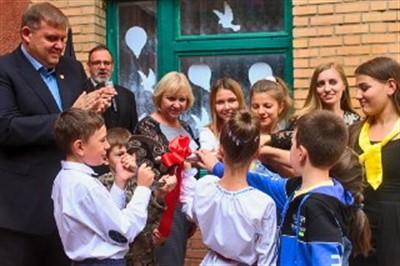 В Горловке Никитовский центр детского творчества переехал в новое здание