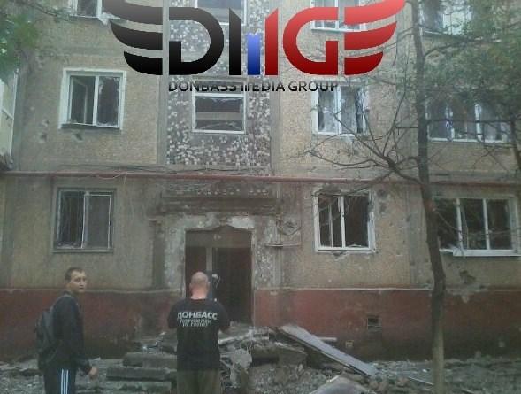 В Горловке сегодня утром ранены 4 жителей