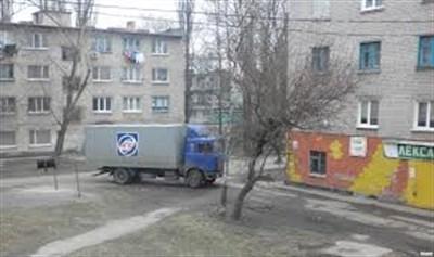 В Горловке вооруженные люди захватили четыре грузовых автомобиля с продукцией для супермаркетов АТБ и задержали водителей