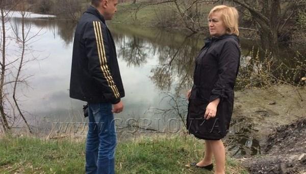 В Горловке поднялся уровень воды в ставке, прилегающем к шахте Ленина: шахтные воды могут вырваться наружу