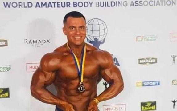 Горловчанин Александр Дыбов  стал победителем чемпионата мира по бодибилдингу