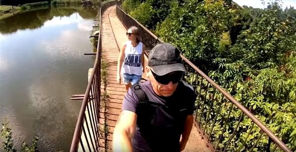 Прогулка по Горловке: семья горловчан показала пруд Черная Водокачка и его окрестности