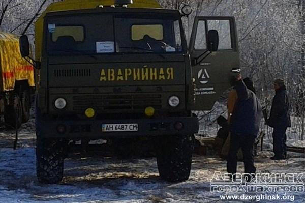 Россияне предоставили ремонтным бригадам гарантии безопасности, чтобы отремонтировать водогон Горловка-Торецк